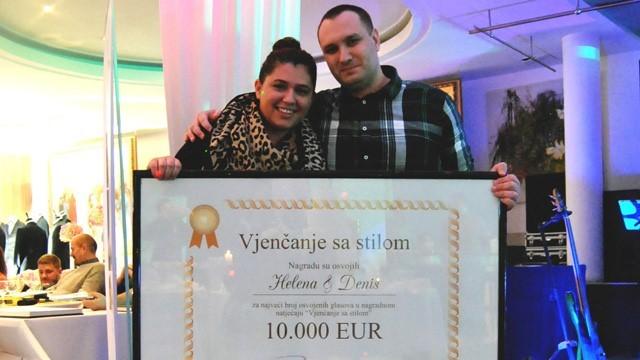 Helena i Denis osvojili 10 000 eura hotela Phoenix